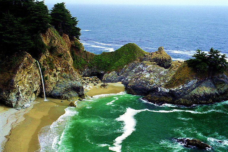 McWay Falls, Big Sur, California  Photo 3 of 8